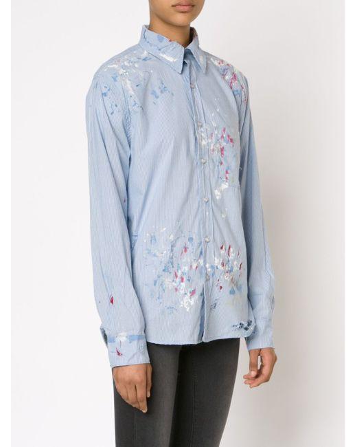 Рубашка Axel Nsf                                                                                                              синий цвет