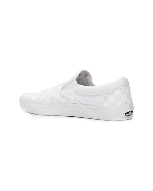 Кеды Слип-Он Vans                                                                                                              белый цвет