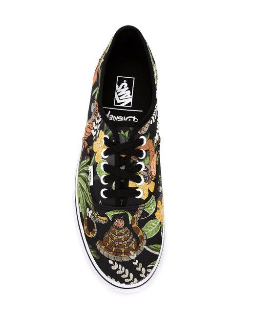 Jungle Print Sneakers Vans                                                                                                              чёрный цвет