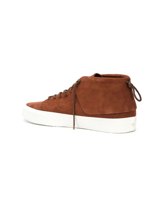 Hi-Top Sneakers Vans                                                                                                              коричневый цвет