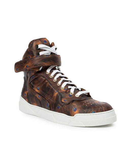 Tyson Hi-Top Sneakers Givenchy                                                                                                              чёрный цвет