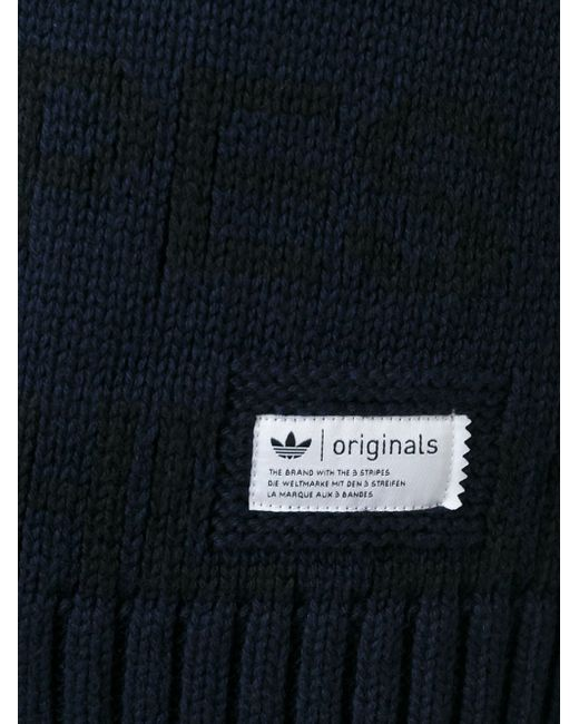 Die Marke Z Cardigan adidas Originals                                                                                                              синий цвет