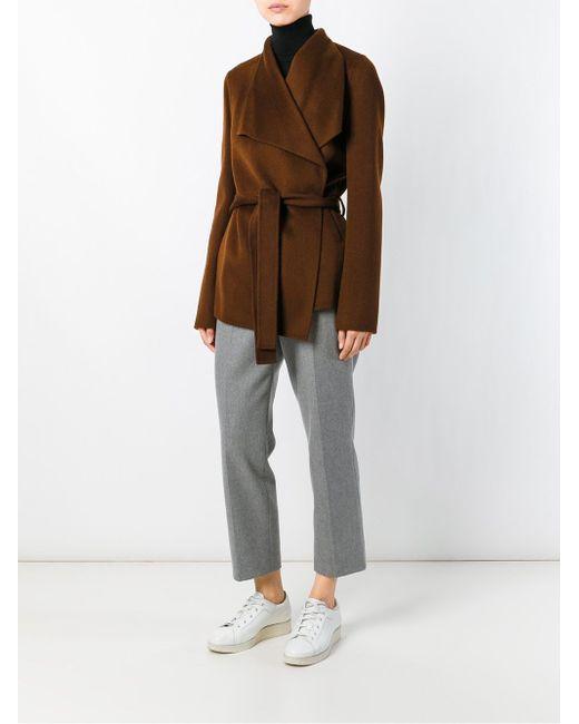 Пиджак С Запахом И Поясом Joseph                                                                                                              коричневый цвет