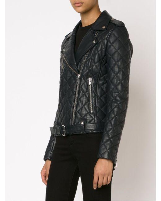 Quilted Biker Jacket Iro                                                                                                              чёрный цвет