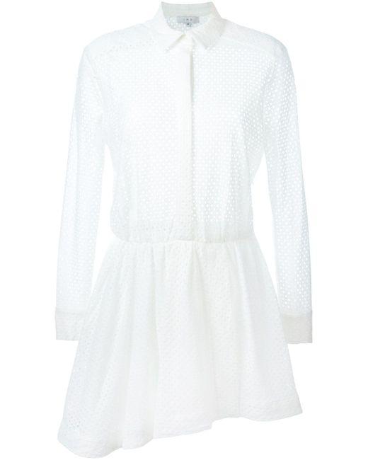 Платье Gail Iro                                                                                                              белый цвет
