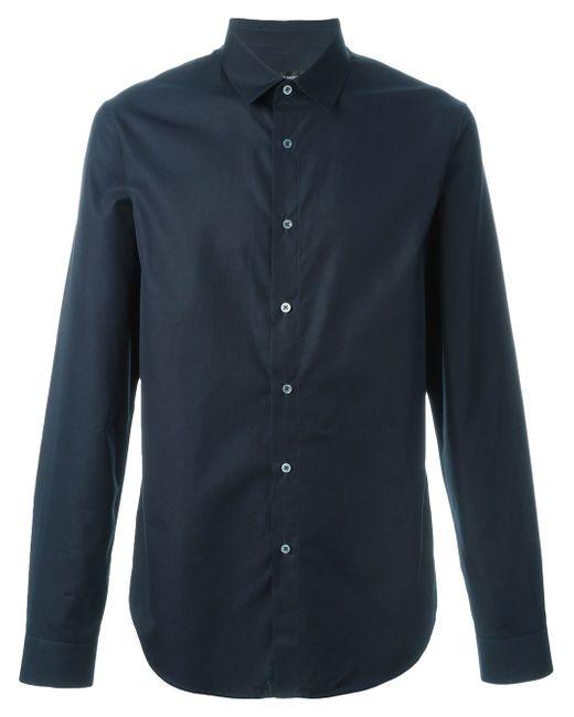Рубашка Кроя Слим Jil Sander                                                                                                              синий цвет