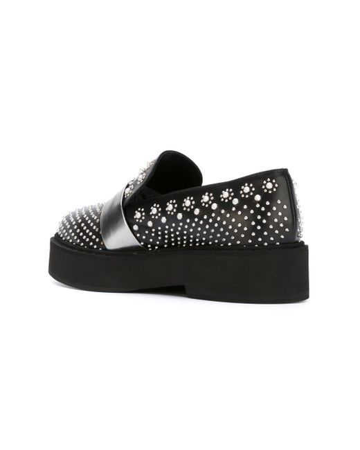 Platform Derby Shoes Alexander McQueen                                                                                                              чёрный цвет