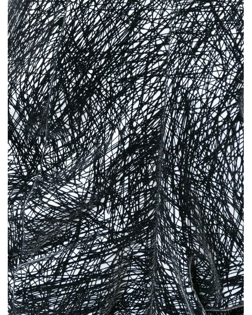 Асимметричная Юбка-Кокон ANREALAGE                                                                                                              чёрный цвет