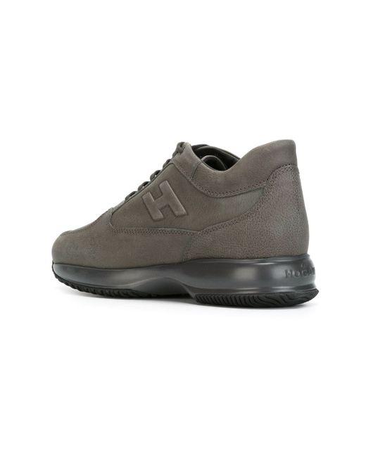 Interactive Sneakers Hogan                                                                                                              серый цвет