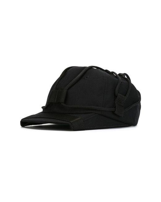 Бейсбольная Кепка С Квадратным Козырьком NASIR MAZHAR                                                                                                              чёрный цвет