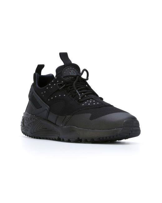 Кроссовки Air Huarache Utility Nike                                                                                                              чёрный цвет