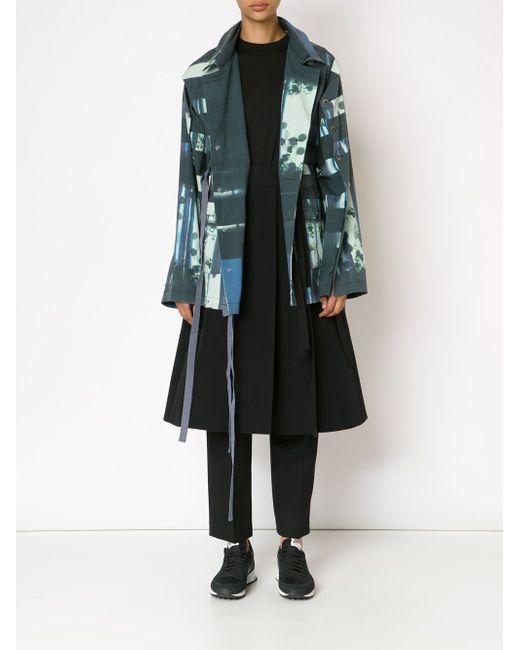 Куртка С Полосатым Принтом PETRA PTACKOVA                                                                                                              многоцветный цвет