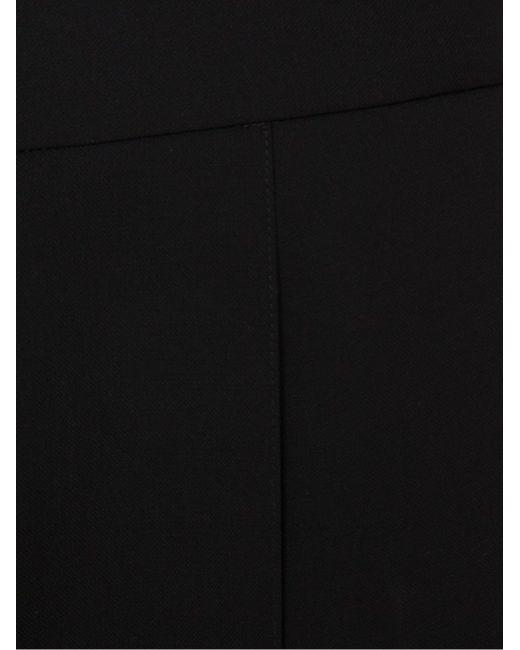 Широкие Плиссированные Брюки ROSETTA GETTY                                                                                                              чёрный цвет
