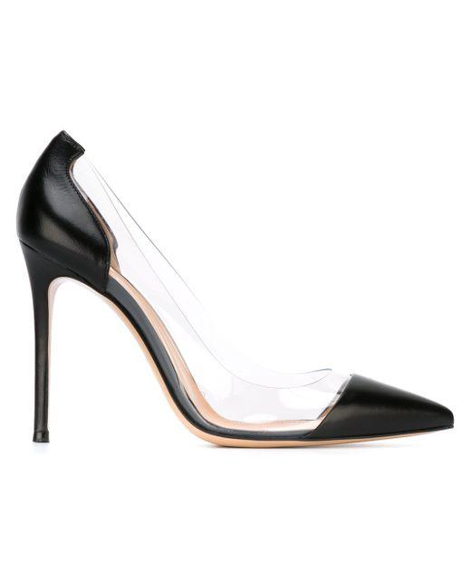 Туфли Plexi Gianvito Rossi                                                                                                              чёрный цвет