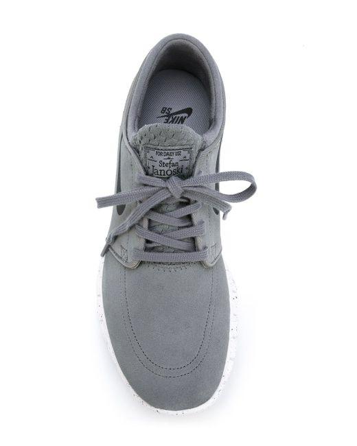 Кроссовки Stefan Janoski Max Nike                                                                                                              серый цвет