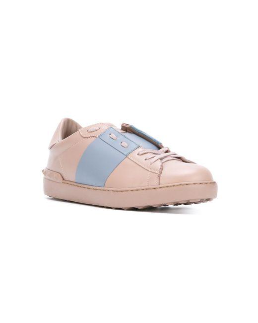 Кроссовки Open Valentino Garavani                                                                                                              розовый цвет