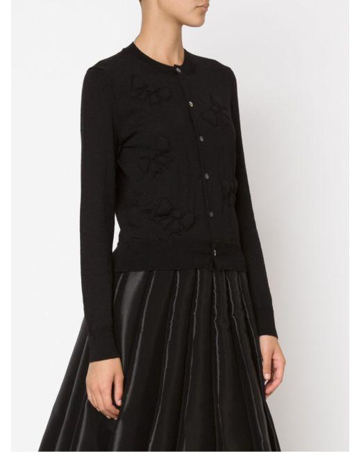 Bows Cardigan Comme Des Garcons                                                                                                              чёрный цвет