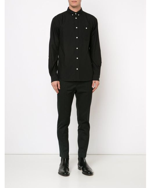 Рубашка Anton Norse Projects                                                                                                              чёрный цвет