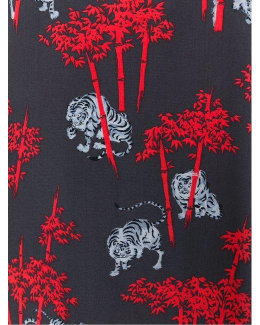 Платье Bamboo Tiger Kenzo                                                                                                              серый цвет