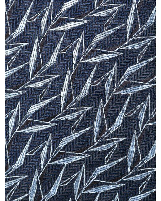 Галстук С Вышивкой Lanvin                                                                                                              синий цвет
