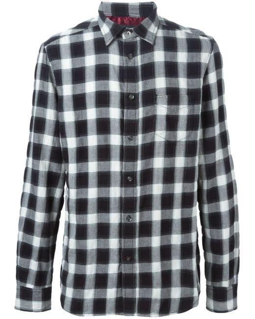Рубашка В Клетку Gake Diesel                                                                                                              чёрный цвет