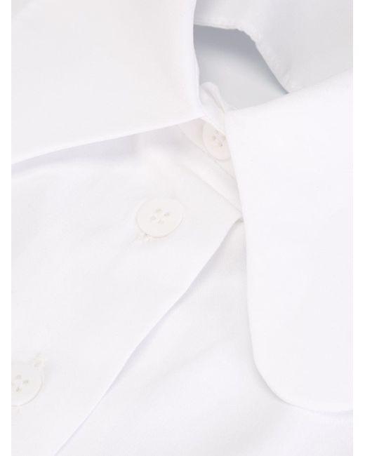 Воротник С Закругленными Концами Carven                                                                                                              белый цвет