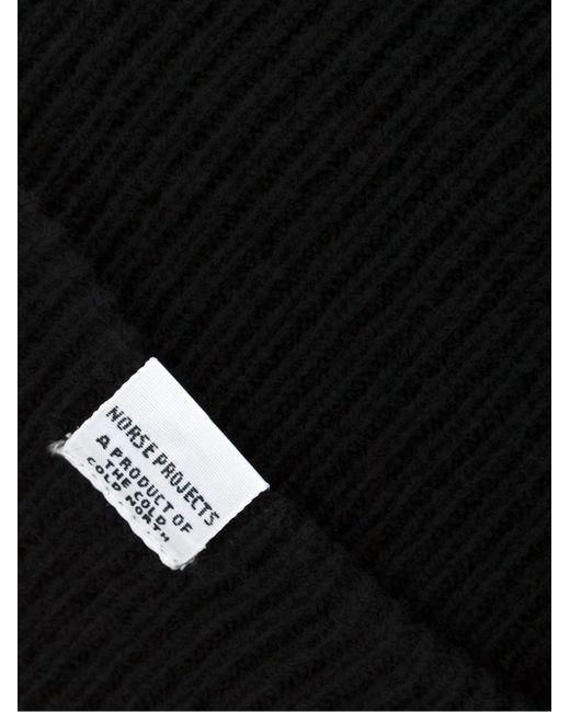Классическая Шапка-Бини Norse Projects                                                                                                              чёрный цвет