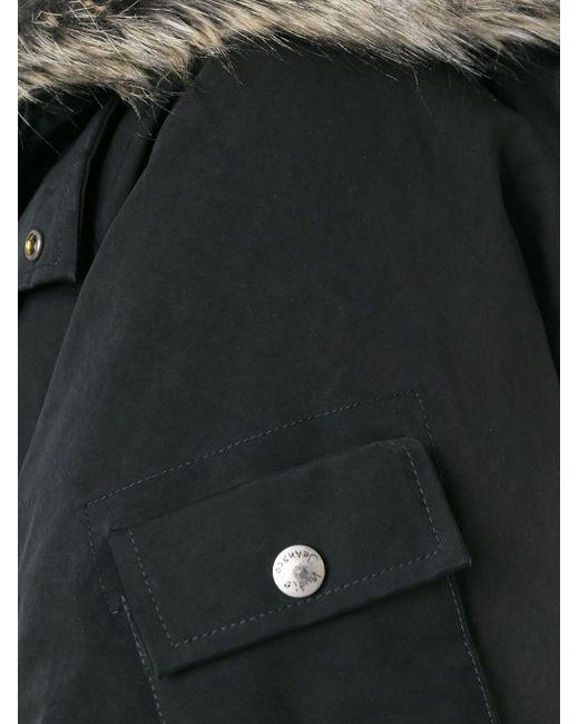 Hooded Parka Nudie Jeans Co                                                                                                              чёрный цвет