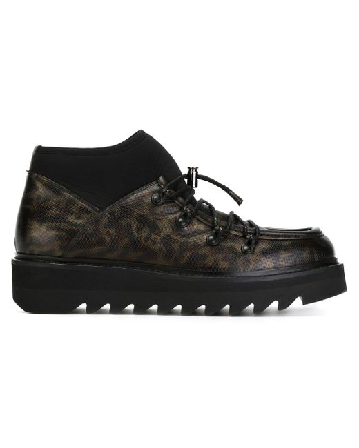 Lace-Up Boots Alberto Guardiani                                                                                                              чёрный цвет