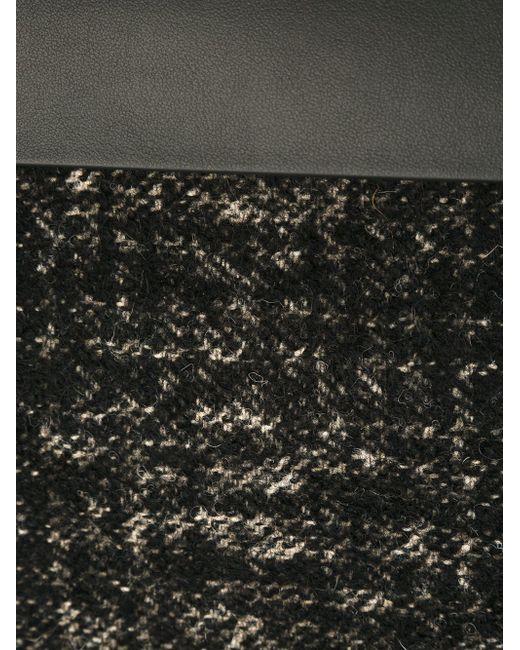 Твидовая Сумка-Тоут Marni                                                                                                              чёрный цвет