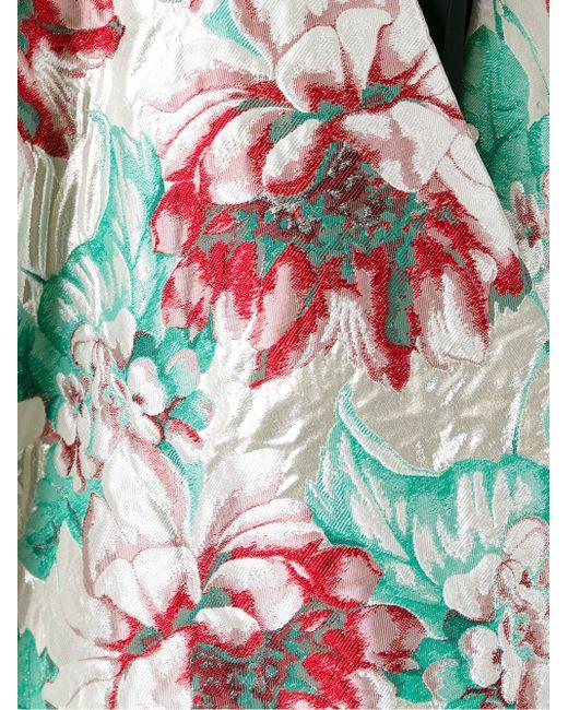 Кейп С Цветочным Узором ERMANNO GALLAMINI                                                                                                              многоцветный цвет