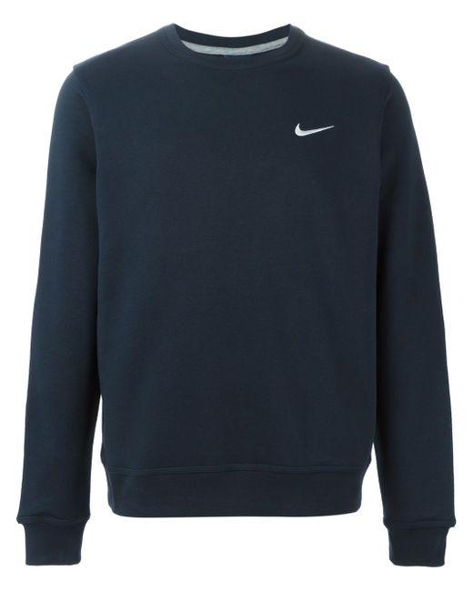 Толстовка Club Crew Nike                                                                                                              синий цвет
