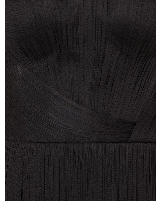 Strapless Bustier Evening Dress Maria Lucia Hohan                                                                                                              чёрный цвет