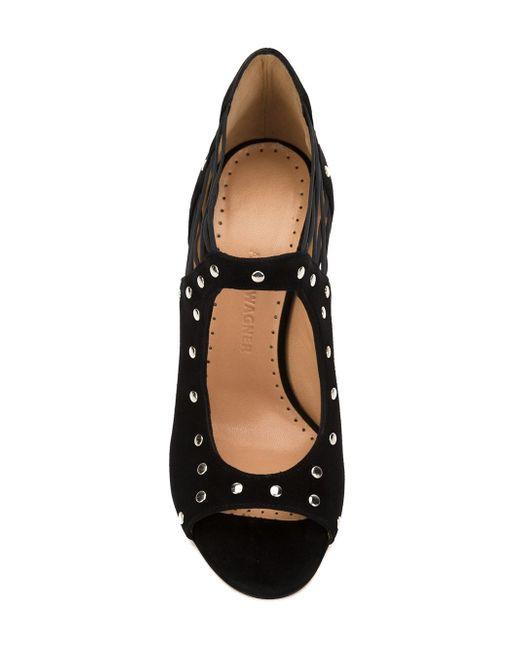 Туфли Miranda Alexa Wagner                                                                                                              чёрный цвет