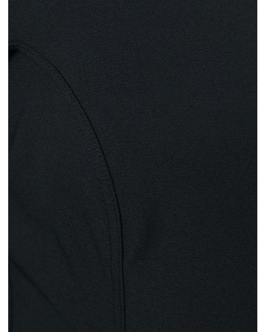 Приталенное Платье С Вырезом-Лодочкой Rick Owens                                                                                                              чёрный цвет