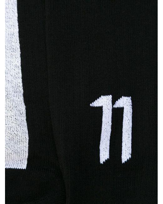 Носки С Логотипом 11 BY BORIS BIDJAN SABERI                                                                                                              чёрный цвет