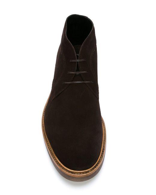 Ботинки-Дезерты Malik Salvatore Ferragamo                                                                                                              коричневый цвет
