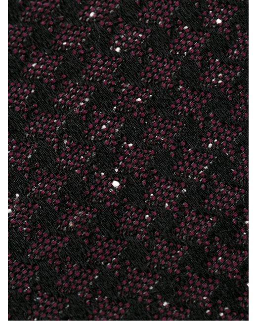 Галстук В Ломаную Клетку Tom Ford                                                                                                              красный цвет