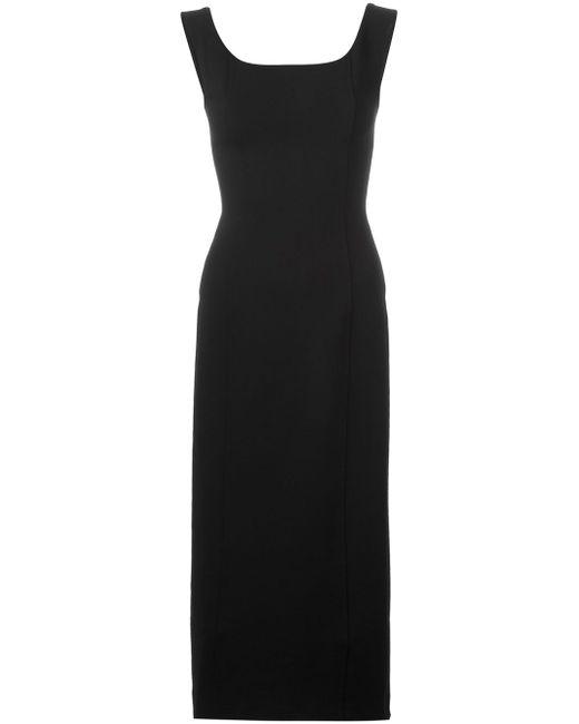 Платье С V-Образным Вырезом На Спине Antonio Marras                                                                                                              чёрный цвет