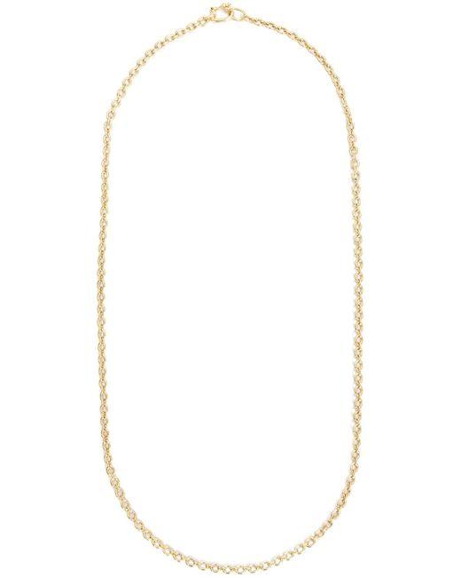 Золотая 18К Цепь На Шею IRENE NEUWIRTH                                                                                                              желтый цвет