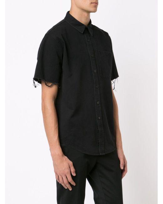 Рубашка С Короткими Рукавами Unif                                                                                                              чёрный цвет