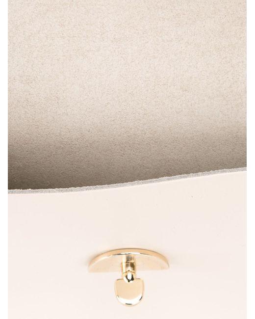 Средняя Сумка Cloud The Cambridge Satchel Company                                                                                                              серый цвет