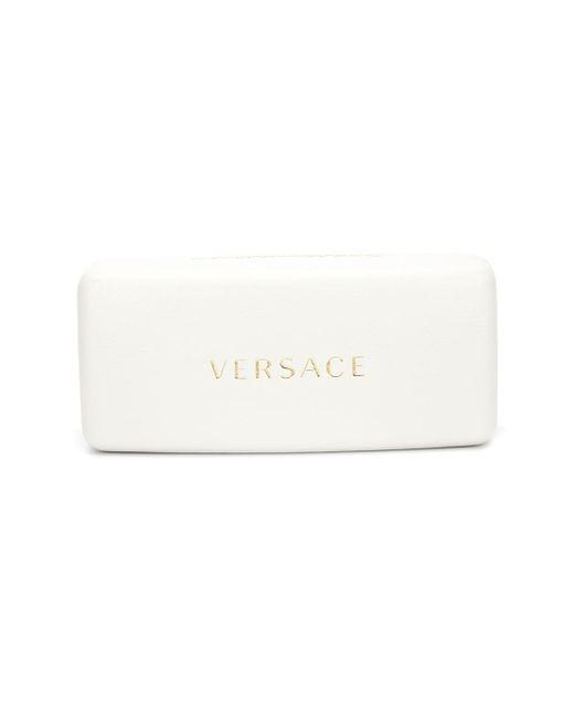 Солнцезащитные Очки С Заклепками Versace                                                                                                              чёрный цвет