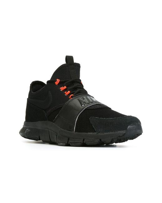Кроссовки Free Ace Nike                                                                                                              чёрный цвет