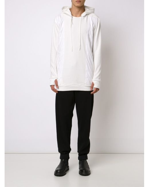 Embroidered Drop Crotch Track Trousers 11 BY BORIS BIDJAN SABERI                                                                                                              чёрный цвет