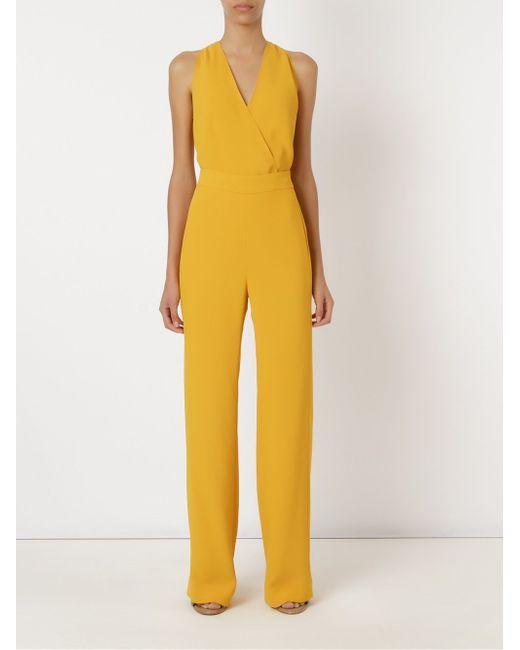 Sleeveless Cache-Coeur Body ANDREA MARQUES                                                                                                              желтый цвет