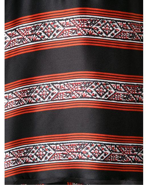 Flared Wrap Dress Veronica Beard                                                                                                              красный цвет