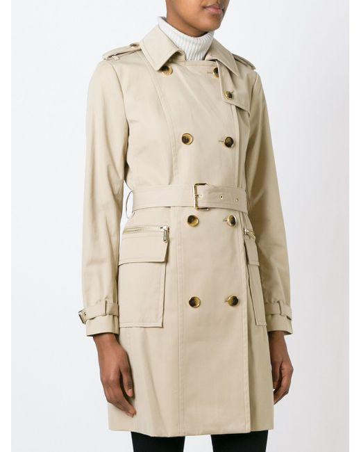 Belted Trench Coat Michael Michael Kors                                                                                                              Nude & Neutrals цвет