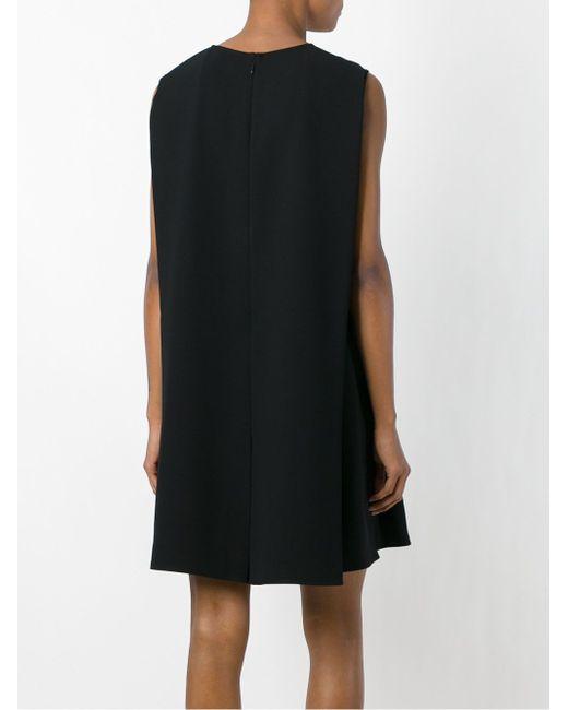 Платье-Шифт Без Рукавов Mcq Alexander Mcqueen                                                                                                              чёрный цвет