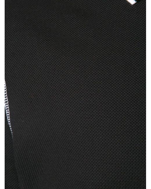 Seam Detail Polo Shirt Givenchy                                                                                                              чёрный цвет